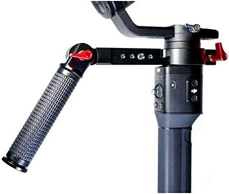 Kiowon L型ハンドルグリップ L型ブラケット DJI Ronin S/ZHIYUN 2 カメラスタビライザー用ポータブルハ