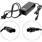 42V 2A Battery Charger Lithium Battery Power Adapter 3-Prong Inline Connector e100 e125 e150 e200, e300, PR200...