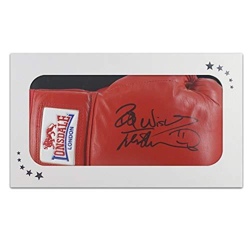Frank Bruno Signed Boxing Glove In Gift Box | Autographed Memorabilia