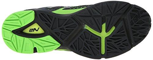 New Balance Men's MX1267 Training Shoe,Black/Green,9.5 4E US