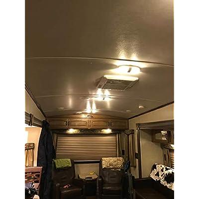 JAVR - Pack of 4-1156 BA15S 1141 1003 7506 Super Bright Warm White 12-24V DC 2835 33SMD LED Bulbs for Back Up Reverse Lights,Tail Lights,Interior RV Camper lighting: Automotive