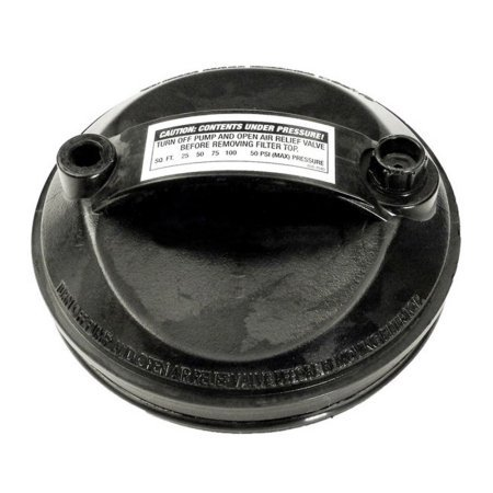 Waterway 511-1000 Filter Lid with O-Rings and Air Relief Plug 550-5100