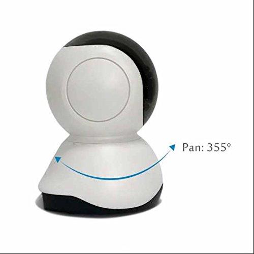 Wireless ip kamera Alarmanlagen Surveillance kamera Geringer Stromverbrauch VideoüBerwachung ,Weitwinkel Objektiv,Indoor/Outdoor für Tier/Kinderfrau/Ältere einschalten/spielen Pan/ Tilt fernbedingte Strömung Videokamera
