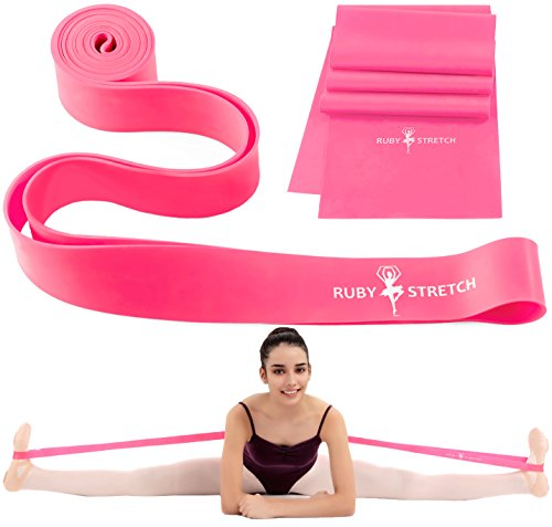 Stretch Bands Set for Dance Ballet Flexibility and Gymnastics – Ballet Stretch Band Stetch Bands Stretch Strap Dance Stretch Band for Flexibility & Stretching
