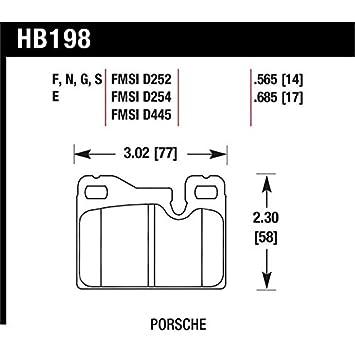 Hawk Performance HB198E.565 Disc Brake Pad
