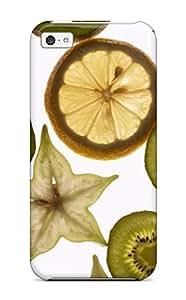 Awesome JKlTdWr629RDRfz ZippyDoritEduard Defender Tpu Hard Case Cover For Iphone 5c- Fruit Slices