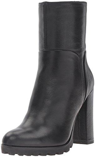 Image of Aldo Women's Fresa Ankle Bootie, Black Leather, 8 B US