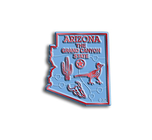 Magnet Arizona (Arizona State Map Magnet)