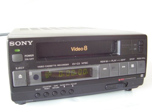 Sony EV-C3 Compact Video 8 VCR (8mm Vcr Player)