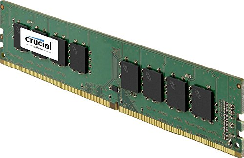 Crucial 4GB Single DDR4 2133 MT/s (PC4-17000) SR x8 Unbuffered DIMM 288-Pin Memory - CT4G4DFS8213