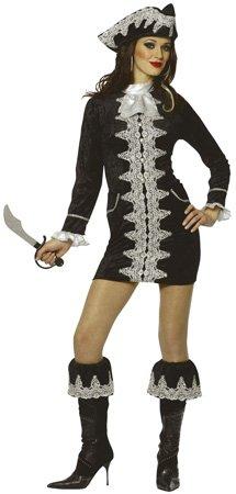 Fancy Pirate Adult Halloween Kostuum Maat Large 12-14