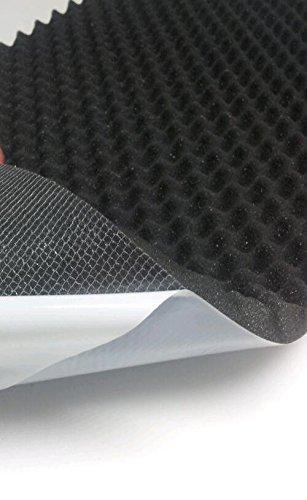 Mousse acoustique, mousse alvé olé e, isolation (100 cm x 50 cm x h) Blanc ou noir mail2mail