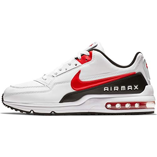 (Nike Air Max LTD 3 Men's Shoes White/University Red/Black bv1171-100 (10 D(M) US))