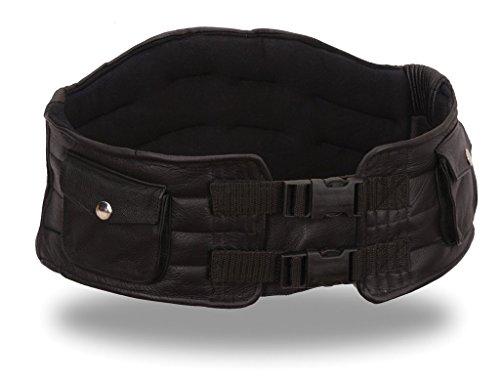 First Manufacturing Back Support Belt (Black, X-Large)