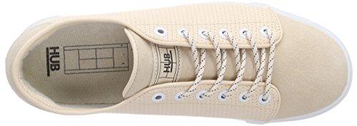 Hub Rose Perf Sneaker Rose soft 067 Otsu Nubuck L wht Femme Pink AwnxrAp7q