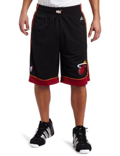 (NBA Men's Miami Heat Swingman Short (Black, X-Large))