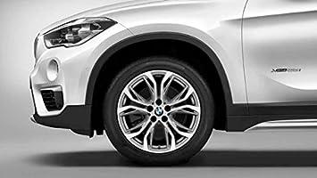 Original BMW X1 F48 Verano Completo juego de ruedas y de radios 566 ferricgrey 18