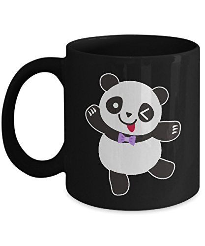 nda Bear Cute Funny Anime Manga Coffee Mug 11oz Black ()