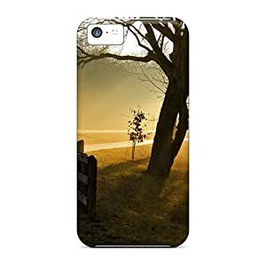 USMONON Phone cases Awesome Case Cover Compatible With Iphone Iphone 5c - Road In The Forest