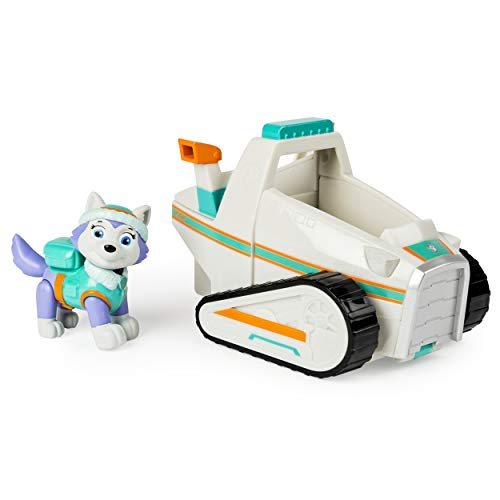 : Paw Patrol Everest's Rescue Snowmobile, Vehicle and Figure