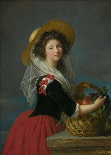 Oil painting 'Elizabeth Vigee Le Brun-The Duchess of Caderousse,1784' printing on high quality polyster Canvas , 10x14 inch / 25x36 cm ,the best Foyer artwork and Home gallery art and Gifts is this Cheap but High quality Art Decorative Art Decorative Canvas ()