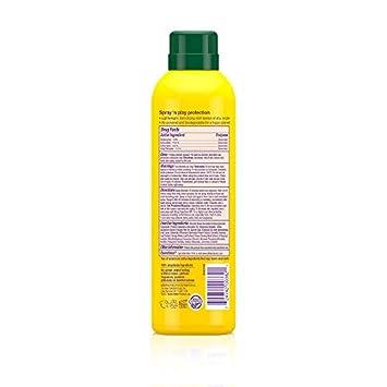 Alba Botanica Tropical Fruit Clear Spray Kids SPF 50 Sunscreen, 6 oz. Pack of 2