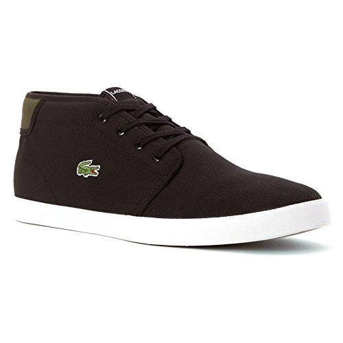 Lacoste Hommes Ampthill Wd Noir / Vert. chaussures ...