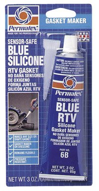 Permatex 80022 3 Oz Sensor-Safe Blue RTV Silicone Gasket Maker Itw Global Brands