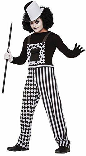 Forum Novelties, Harlequin Clown Costume Overalls, One (Adult Overalls Clown Costumes)