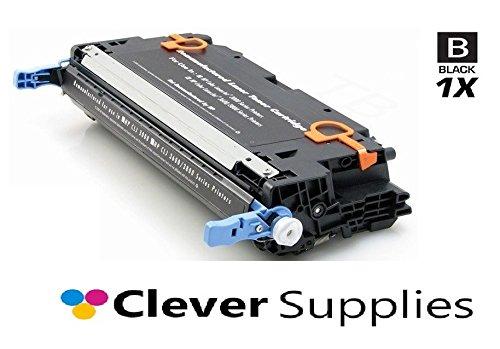 CS Compatible Toner Cartridge Replacement for HP Q7560A Q7560A Black HP Color Laserjet 2700 2700N 3000 3000DN 3000N 3000DTN 3000TN