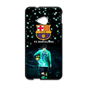 JIANADA Fc Barcelona New Style High Quality Comstom Protective Case Coverr For HTC M7