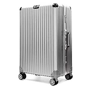 NJC Trolley Case Luggage Storage Box Adjustable Aluminum Alloy Trolley Case