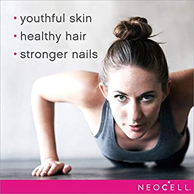 NeoCell - Super Collagen + C - 6000mg NeoCell Collagen Type 1&3 + Vitamin C Promotes Healthy Hair, Skin, Nails, Joints, Tendons, Ligaments, and Bones; Non-GMO and Gluten-Free - 360 Tablets