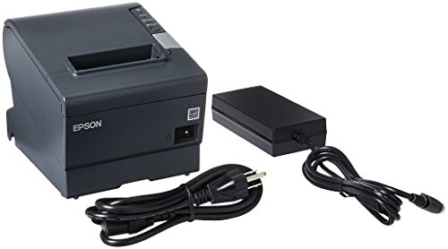 Serial Pos Printer - Epson C31CA85084 TM-T88V Thermal Receipt Printer (USB/Serial/PS180 Power Supply)