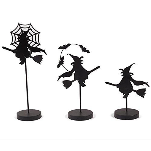 3 Piece Witch Tealight Holder (Halloween Tea Light Holder)