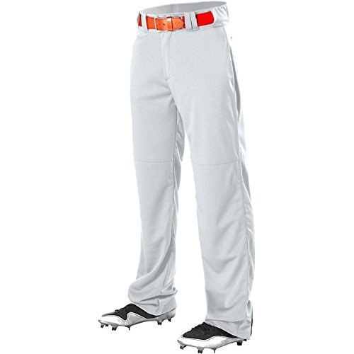Alleson Adult Adjustable Inseam Baseball Pant White XL ()
