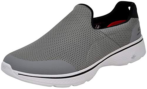 Skechers Performance Men's Go Walk 4 Incredible Walking Shoe (10 M US, Light Grey)