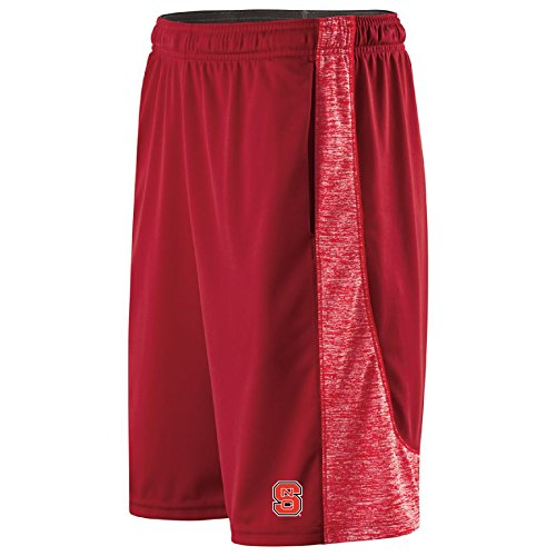NCAA North Carolina State Wolfpack Men's Electron Shorts, X-Large, Scarlet/Scarlet Heather