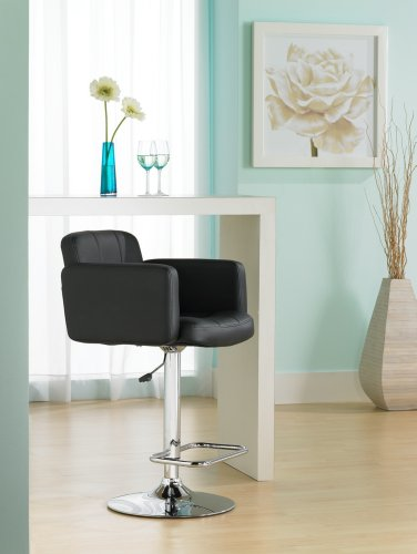 Trek Large Adjustable Height Black Bar Stool Buy Online In Uae Products In The Uae See