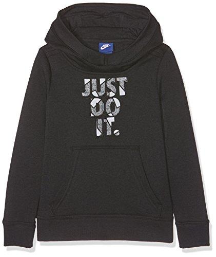 Hoodie Nike Po Gfx Bambina Nero Nsw Felpa G BBwqHrE
