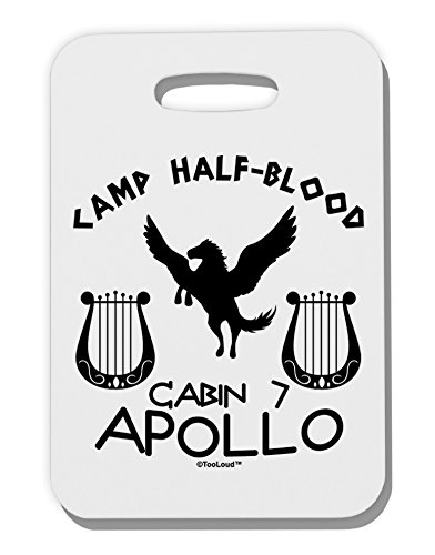 tooloud-cabin-7-apollo-camp-half-blood-thick-plastic-luggage-tag