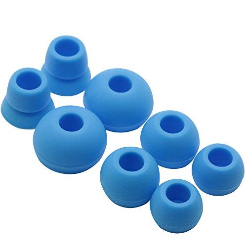 Poyatu Replacement Eartips Earbuds Eargels Earpads for Powerbeats 2 Wireless Beats by dr dre Blue
