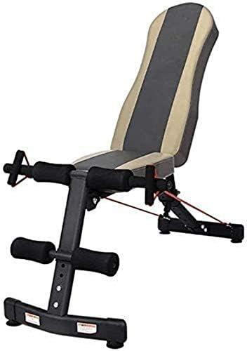 家庭用ダンベルベンチ ダンベルベンチ 調整可能なウェイトベンチ ウエイトトレーニングベンチ 多機能フィットネス腹部運動ベンチ、 6つの高さ調節可能