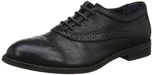 Fly London Eile943fly, Scarpe Stringate Basse Brogue Donna Nero (Black 000)