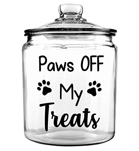 - Personalized Pet Treat Jar - Dog Treat Jar - Custom Pet Treat Jar - Personalized Treat Jar - Dog Gift - Puppy Gift - Dog Bone Jar