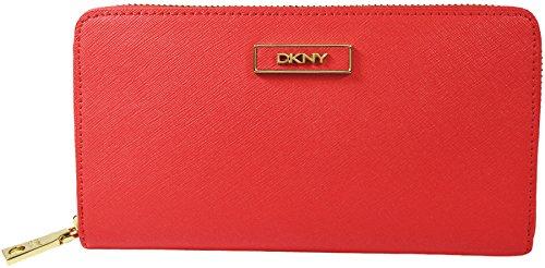 DKNY Women s Coral Saffiano Leather Zip Aroun…