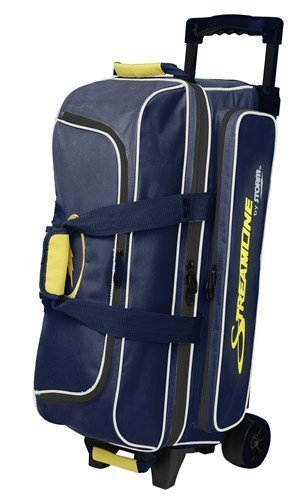 Storm Streamline 3 Ball Bag Navy/Gray/Yellow by Storm