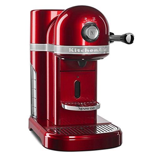 KitchenAid KES0503CA0 Candy Apple Red Nespresso Espresso Maker For Sale
