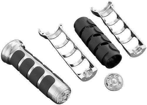 Kuryakyn Gl1800 ISO Heated Hand Grip - Black (Gl1800 Heated Grips)