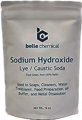 Sodium Hydroxide - Pure - Food Grade (Ca...